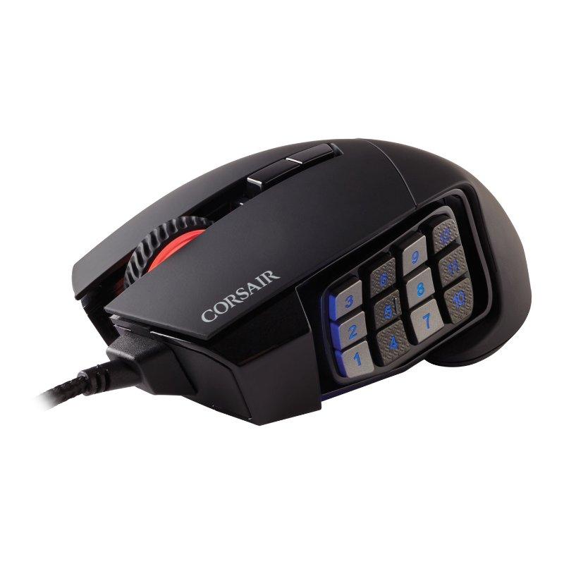 corsair scimitar elite gaming mouse c