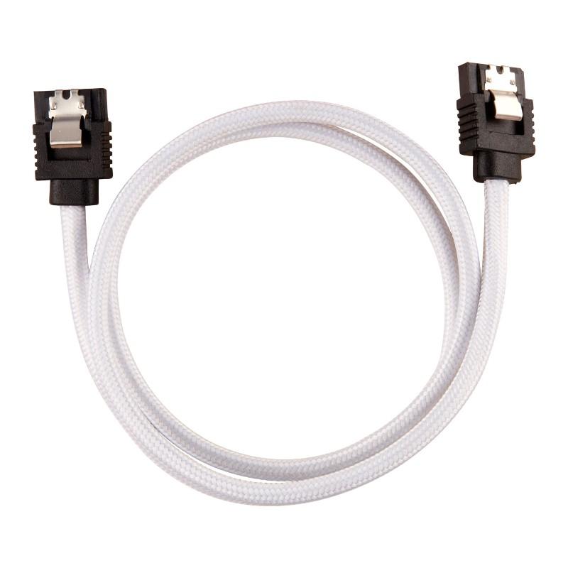 corsair sleeved sata cable 60cm white b