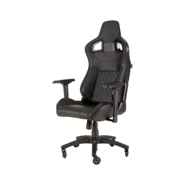 corsair t1 race gaming chair black a