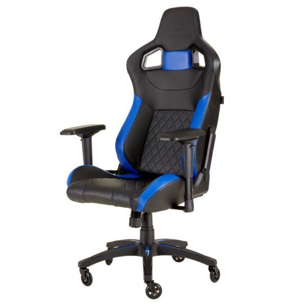 corsair t1 race gaming chair blue a