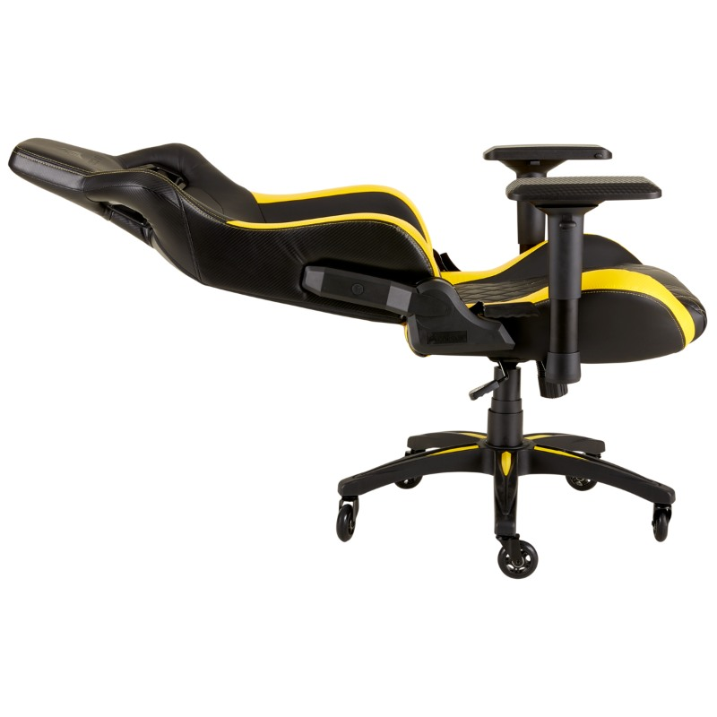 corsair t1 race gaming chair yellow e