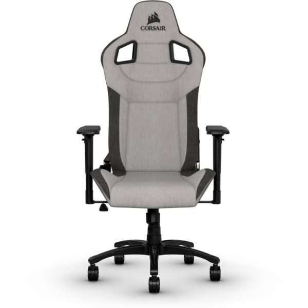 corsair t3 rush gaming chair grey charcoal a