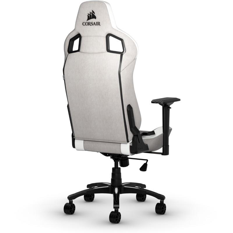 corsair t3 rush gaming chair grey white d