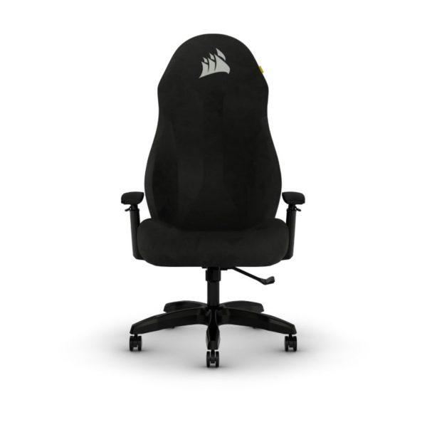 corsair tc60 fabric gaming chair black a
