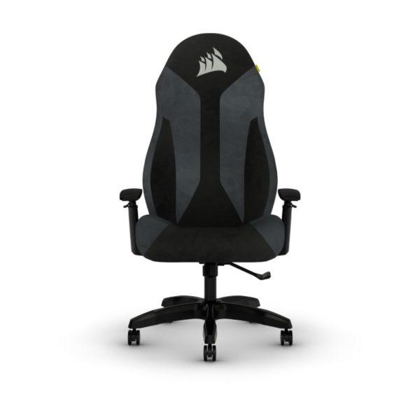 corsair tc60 fabric gaming chair grey a