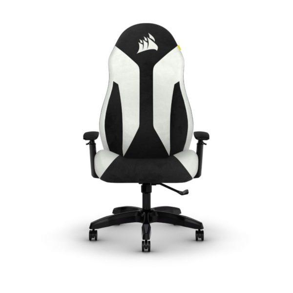 corsair tc60 fabric gaming chair white a