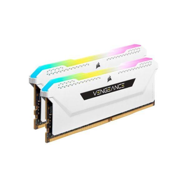 corsair vengeance rgb pro sl 16gb 2x8gb ddr4 3600mhz c18 memory kit white a