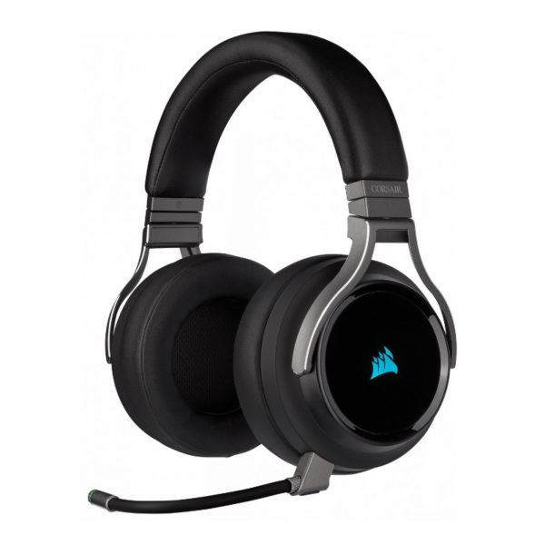 corsair virtuoso wireless gaming headset carbon a