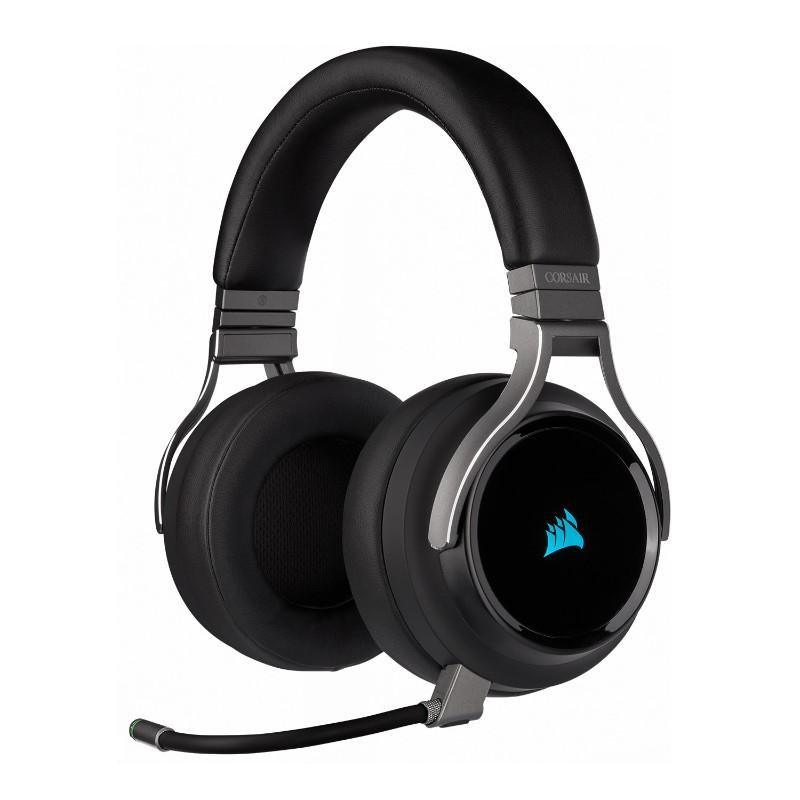 corsair virtuoso wireless gaming headset carbon a