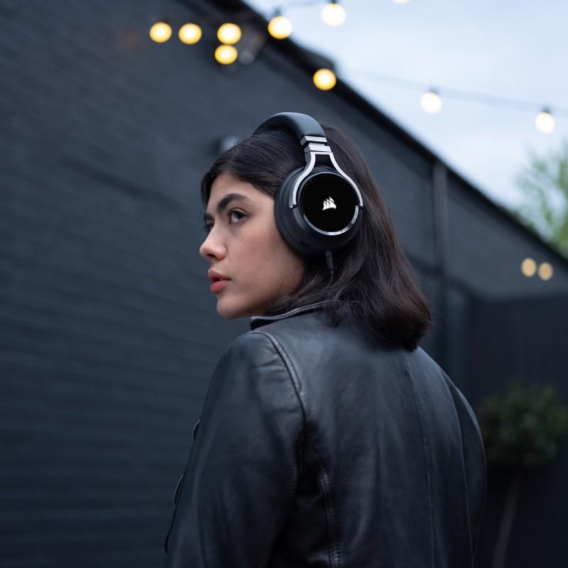 corsair virtuoso wireless gaming headset carbon c 2