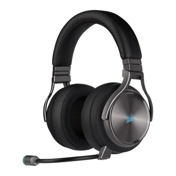 corsair virtuoso wireless gaming headset se gun metal a