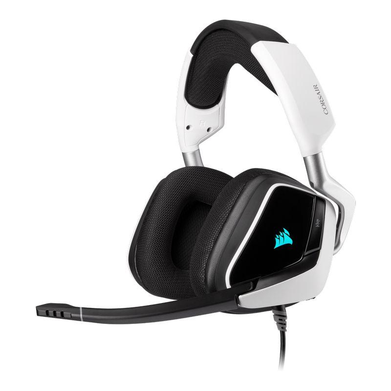 corsair void elite rgb usb gaming headset white a
