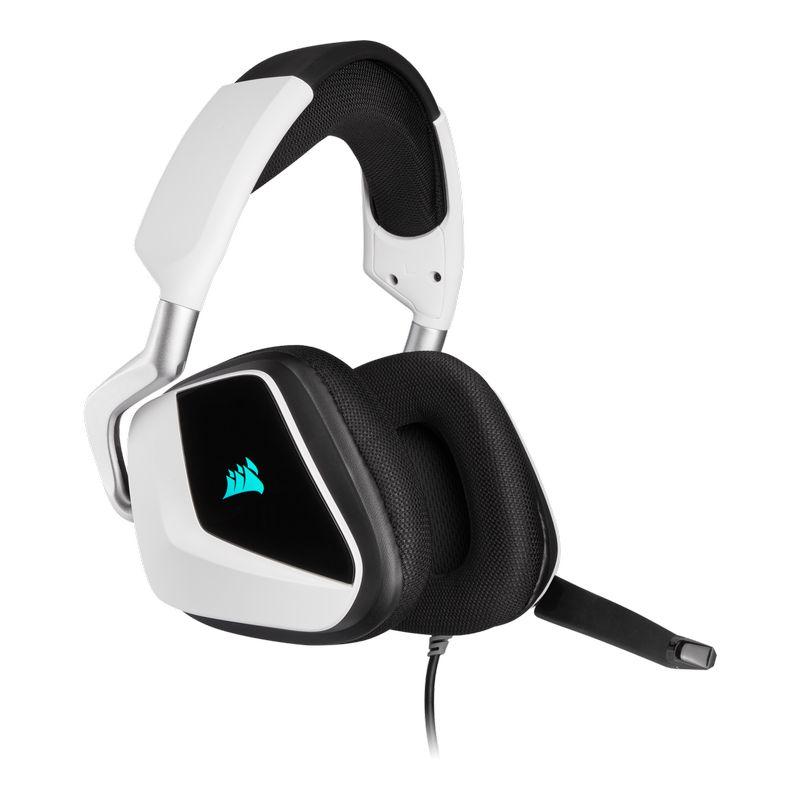 corsair void elite rgb usb gaming headset white c