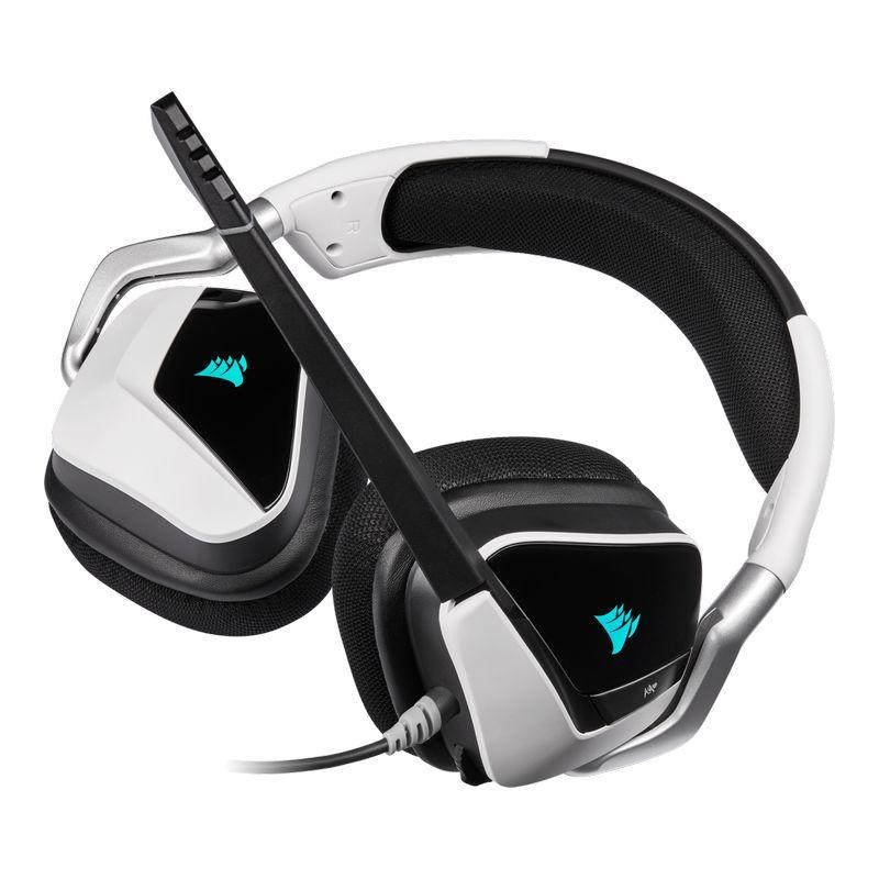 corsair void elite rgb usb gaming headset white d