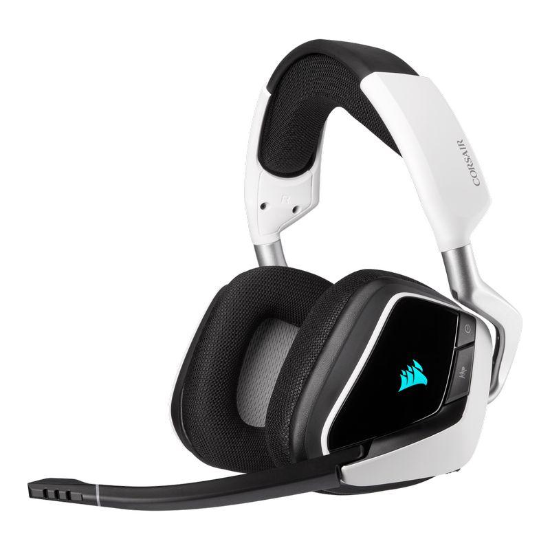 corsair void elite rgb wireless gaming headset white a
