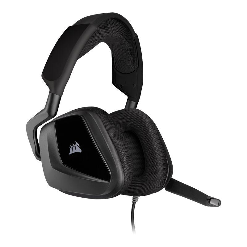 corsair void elite surround gaming headset carbon c