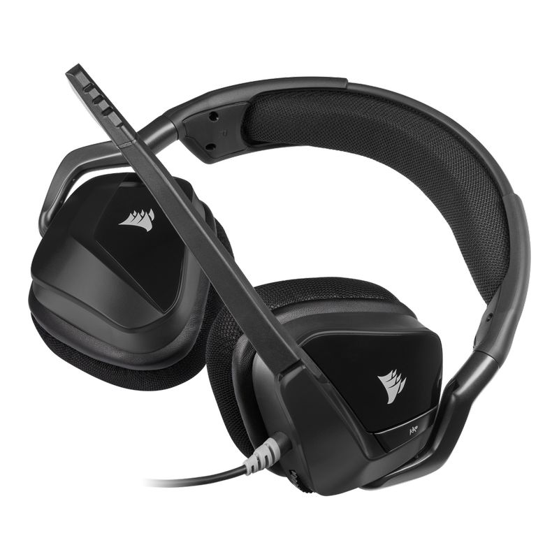 corsair void elite surround gaming headset carbon d