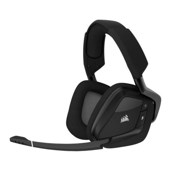 corsair void pro rgb wireless gaming headset black grey a