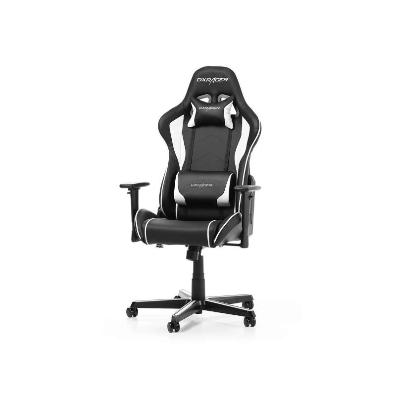 dxracer formula f08 nw series gaming chair black white b