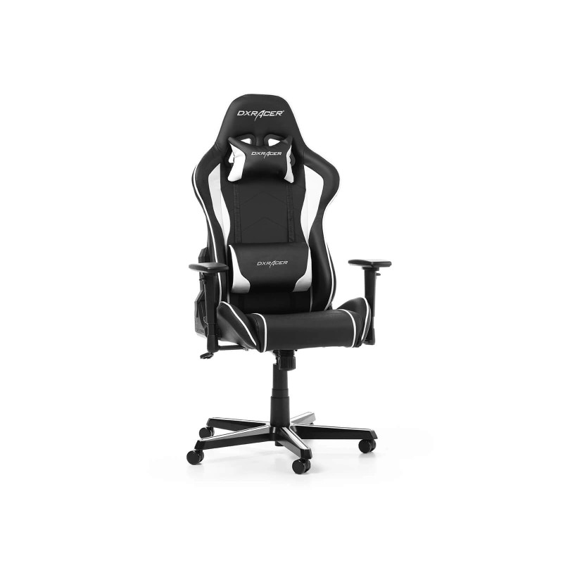 dxracer formula f08 nw series gaming chair black white c