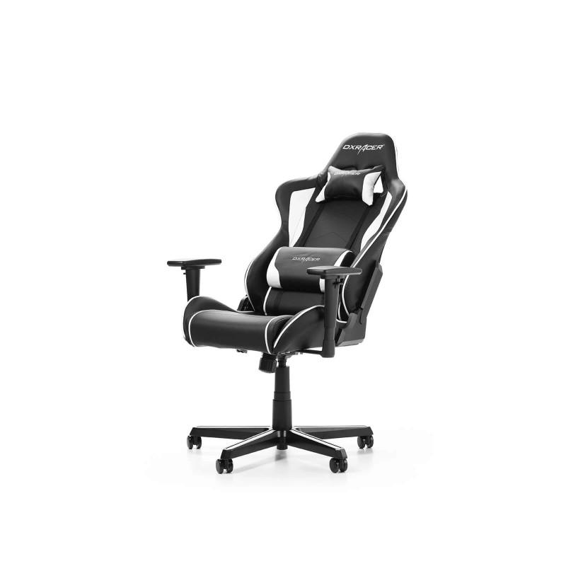 dxracer formula f08 nw series gaming chair black white i