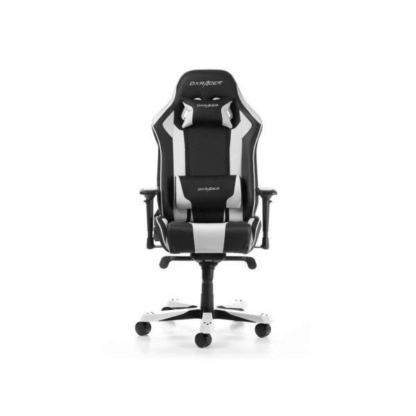 dxracer king 06 nw series gaming chair black white a