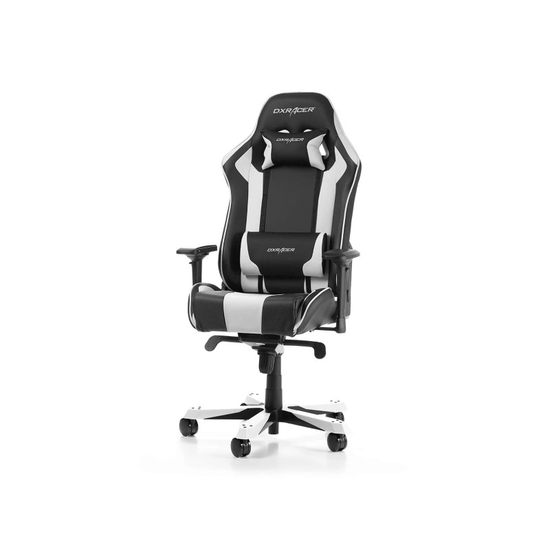 dxracer king 06 nw series gaming chair black white b