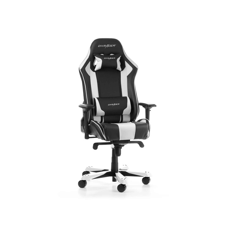 dxracer king 06 nw series gaming chair black white c