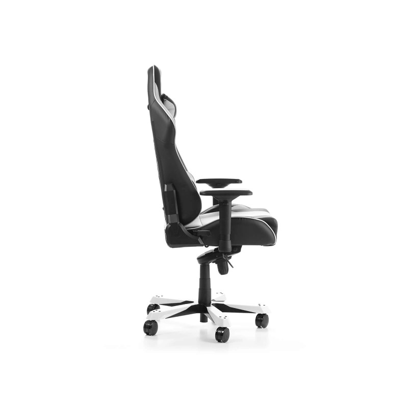 dxracer king 06 nw series gaming chair black white d