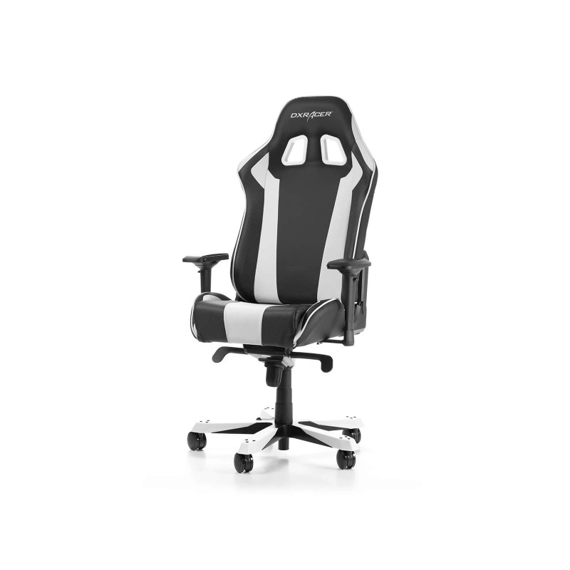 dxracer king 06 nw series gaming chair black white f