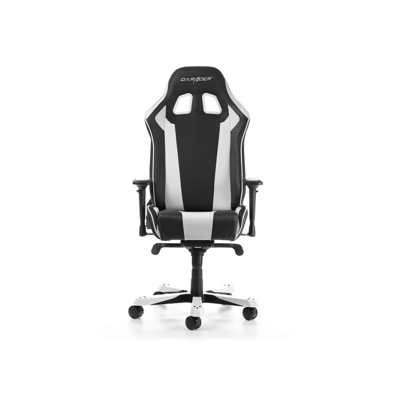 dxracer king 06 nw series gaming chair black white g