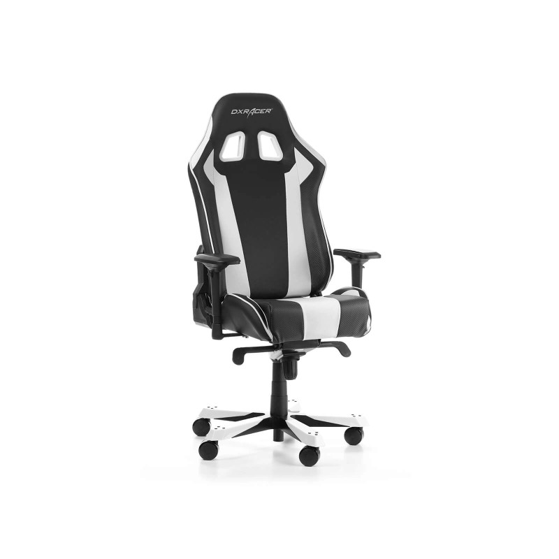 dxracer king 06 nw series gaming chair black white h