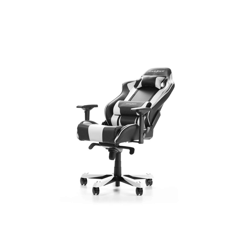 dxracer king 06 nw series gaming chair black white i
