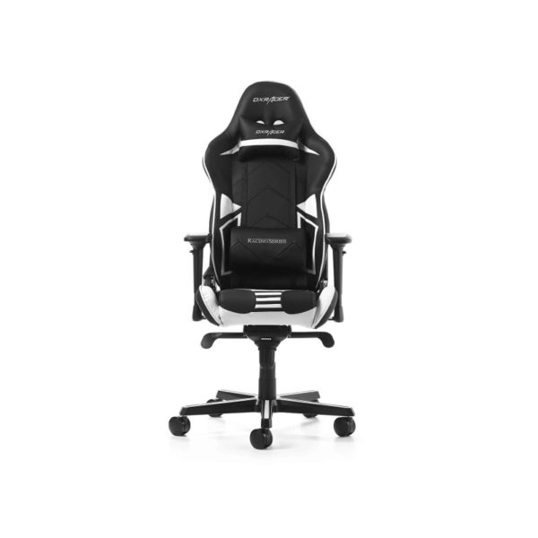 dxracer racing pro r131 nw series gaming chair black white a