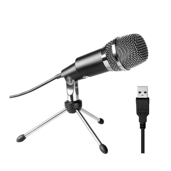 fifine k668 usb condensor microphone with stand a 2