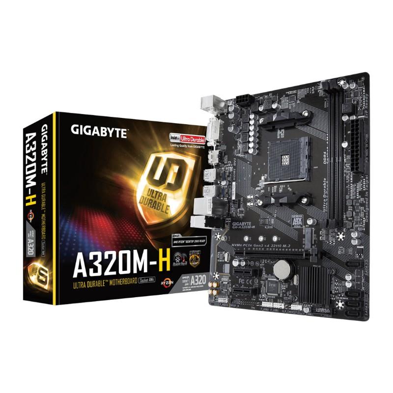 gigabyte a320m h am4 motherboard a