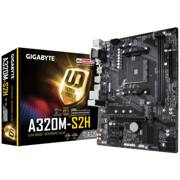 gigabyte a320m s2h am4 motherboard a