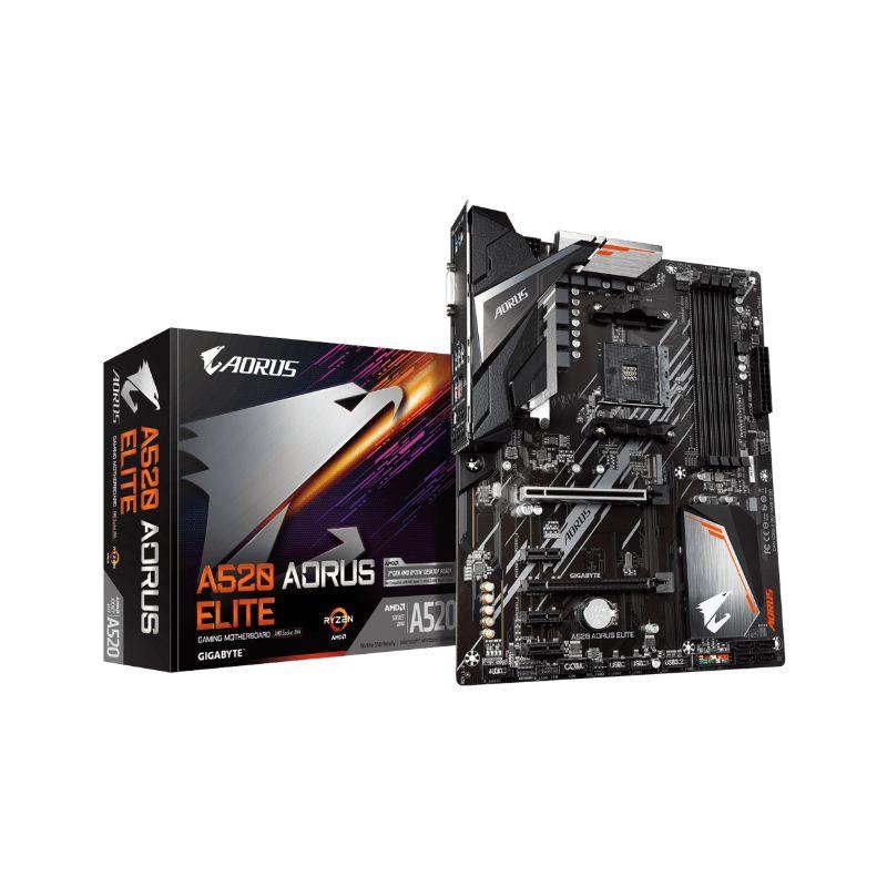 gigabyte a520 aorus ryzen am4 motherboard a