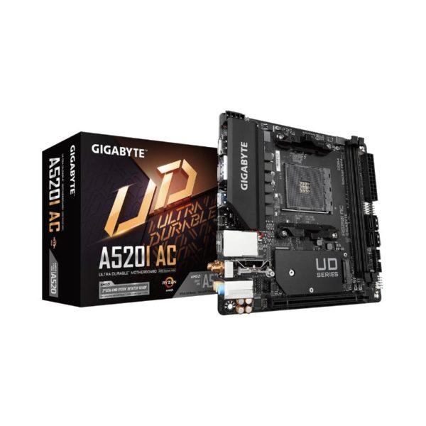 gigabyte a520i ac mini itx ryzen am4 motherboard a