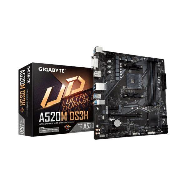 gigabyte a520m ds3h ryzen am4 motherboard a