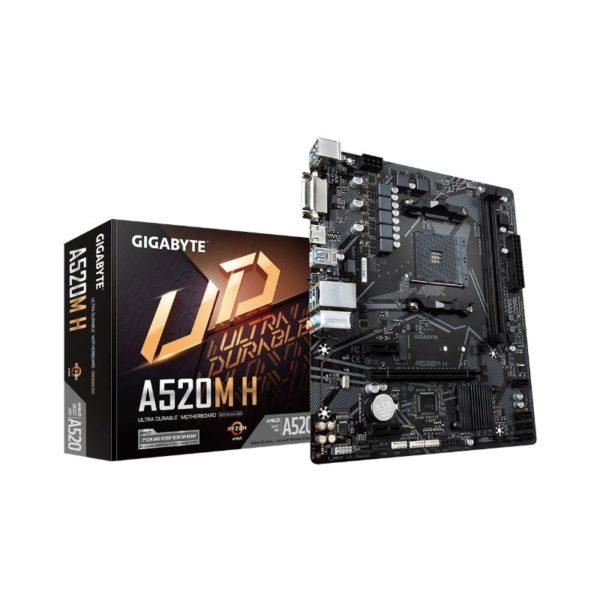 gigabyte a520m h ryzen am4 motherboard a
