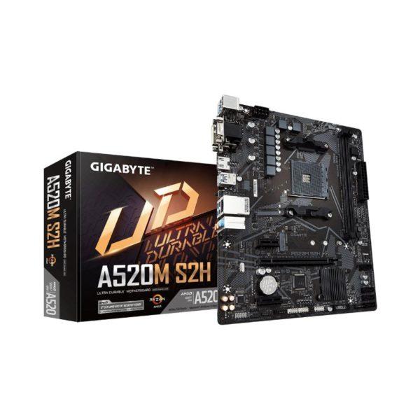 gigabyte a520m s2h ryzen am4 motherboard a