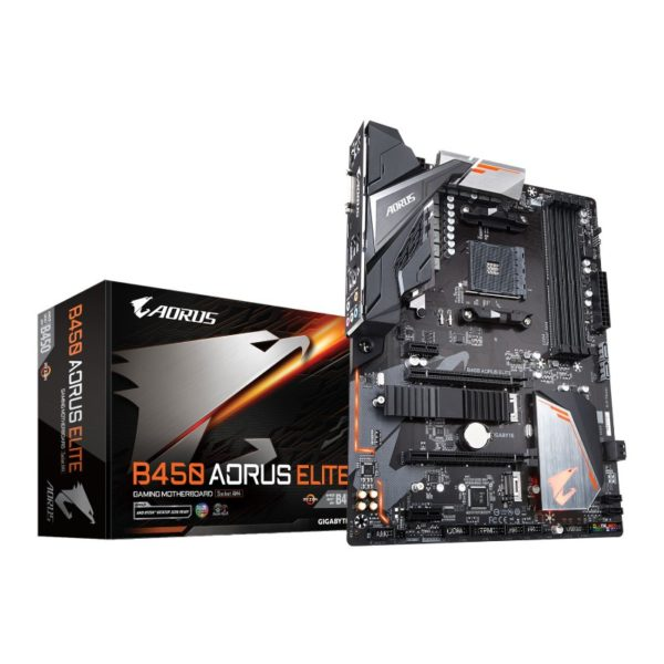 gigabyte amd b450 aorus elite am4 motheroard a