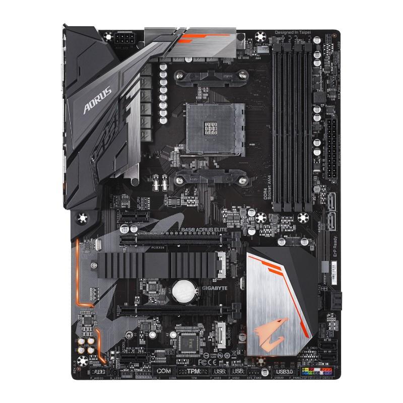 gigabyte amd b450 aorus elite am4 motheroard b