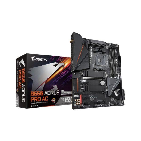 gigabyte amd b550 aorus pro ac motherboard a