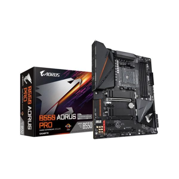 gigabyte amd b550 aorus pro motherboard a