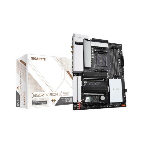 gigabyte amd b550 vision d motherboard a