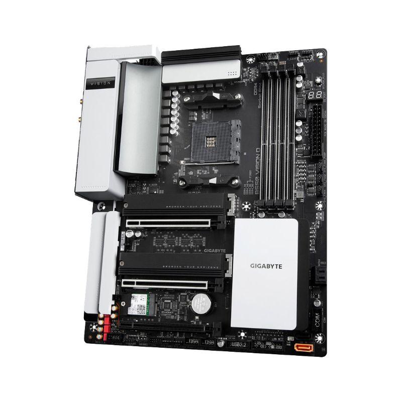 gigabyte amd b550 vision d motherboard c
