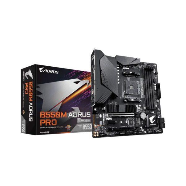 gigabyte amd b550m aorus pro matx motherboard a