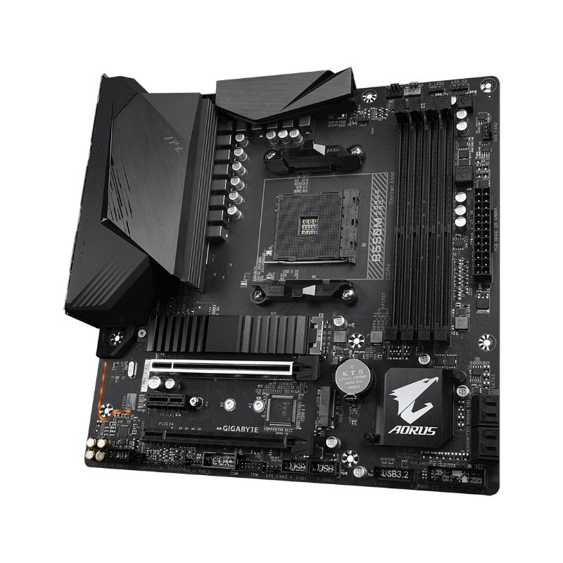 gigabyte amd b550m aorus pro matx motherboard c